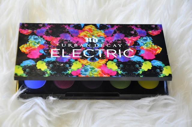 paletka kolorowych prasowanych pigmentów urban decay electric