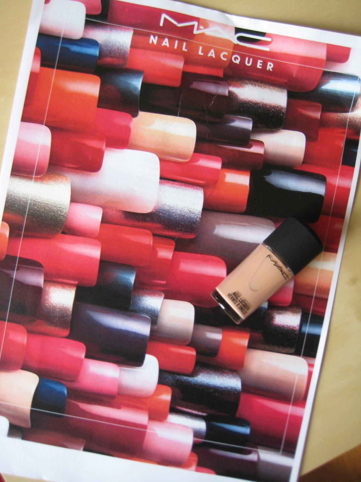 Past, Present, Future: MAC Nail Lacquer Collection - Nail