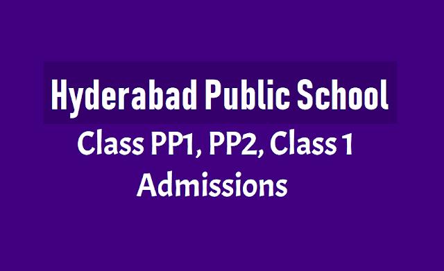 Hyderabad Public School Admissions
