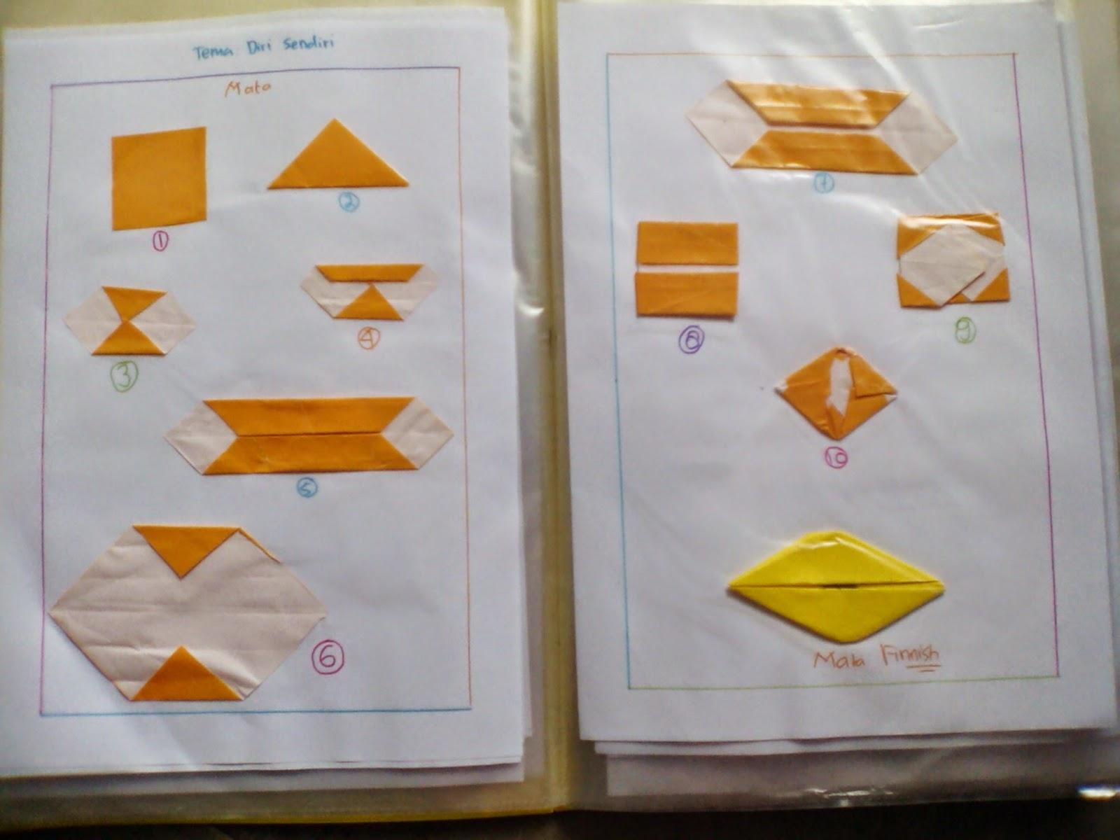 Rahmi Syah Putri Cara Cara Melipat Origami Sesuai Dengan Tema