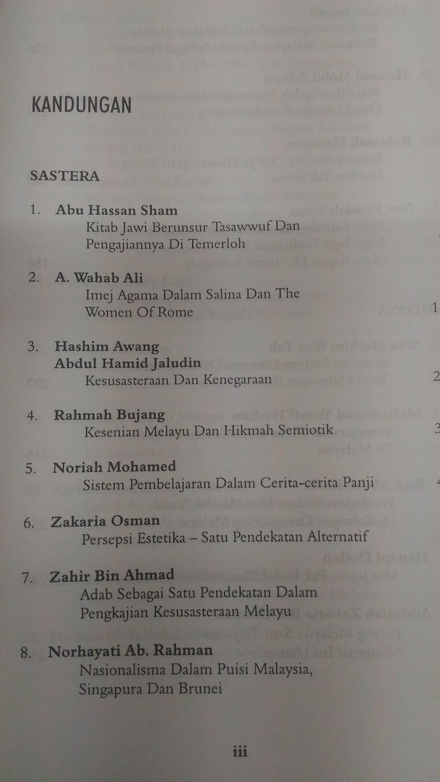 Naskah Drama Tradisional Bahasa Melayu 6 Orang Everythingelegant