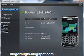 Cara Backup Seluruh Data Hp Blackberry Ke Komputer