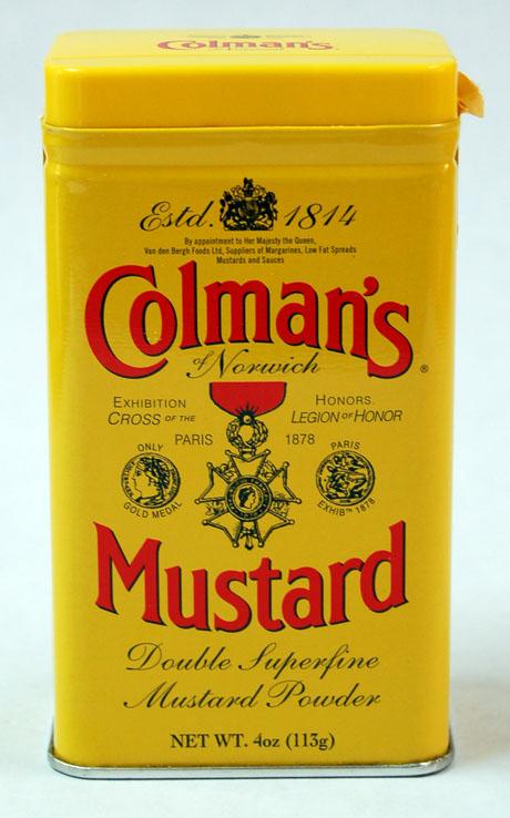 Colemans Senfpulver
