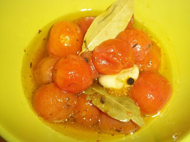 Confitando tomatitos cherry cocinar con ciencia for Cocinar a 90 grados