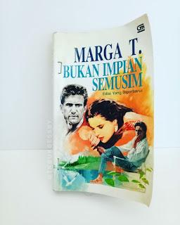 Sinopsis dan Jual Novel Marga T Bukan Impian Semusim
