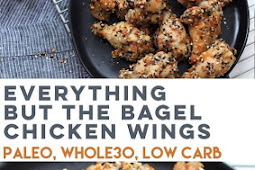 Everything But The Bagel Chicken Wings