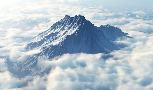 Mount Olympus, the home of the Olympian Gods