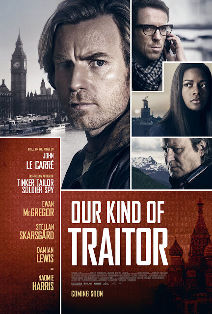 John Le Carre Our Kind of Traitor poster