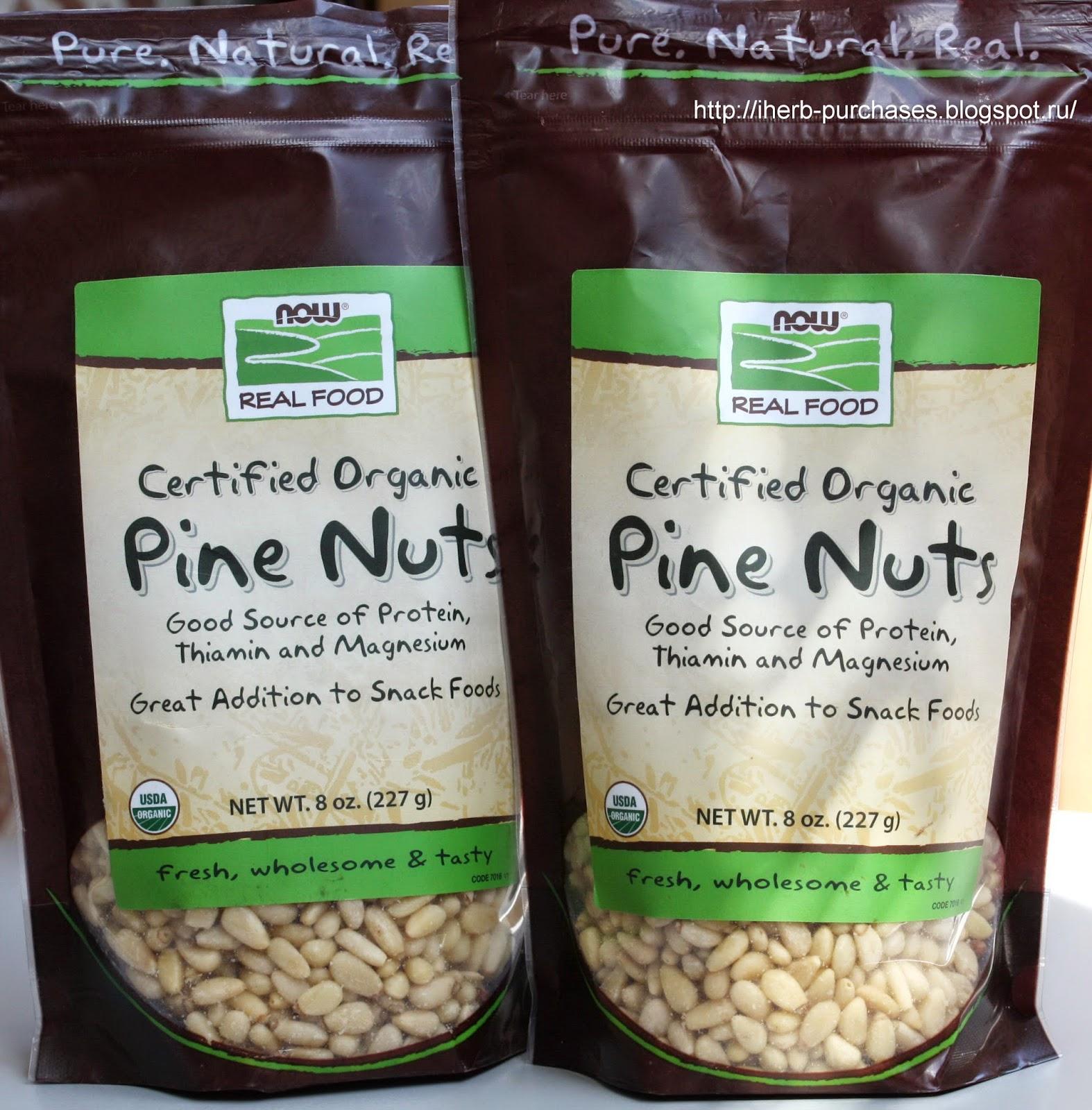 орех, кедровые орехи, полезно, вкусно, отзыв, iherb