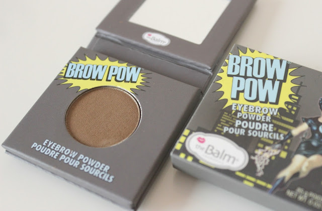 A picture of theBalm Brow Pow in Light Brown