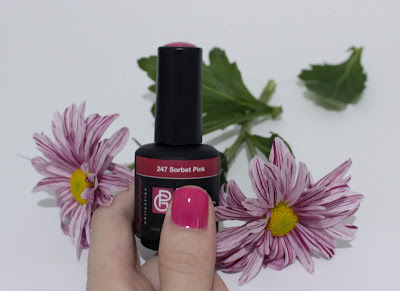 Pink Gellac Tropical Island Sorbet Pink