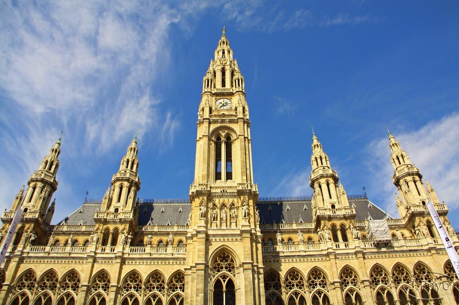 Ayuntamiento Neues Rathaus de Viena