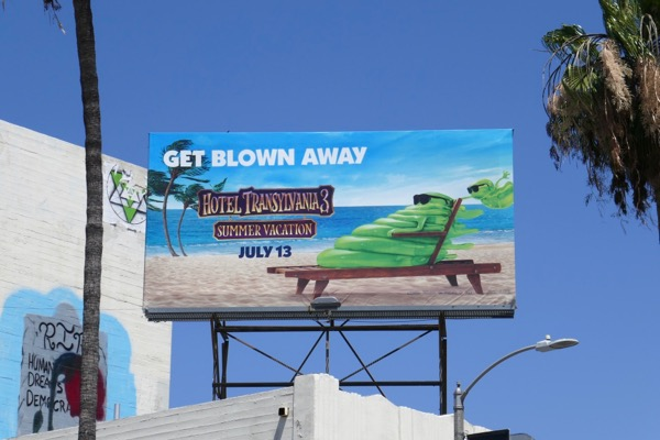 Hotel Transylvania 3 Summer Vacation Blobby billboard