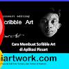 Tutor Picsart | Cara Membuat Scribble Art Dengan Picsart Android
