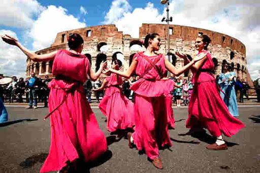 Фестиваль в честь основания Рима