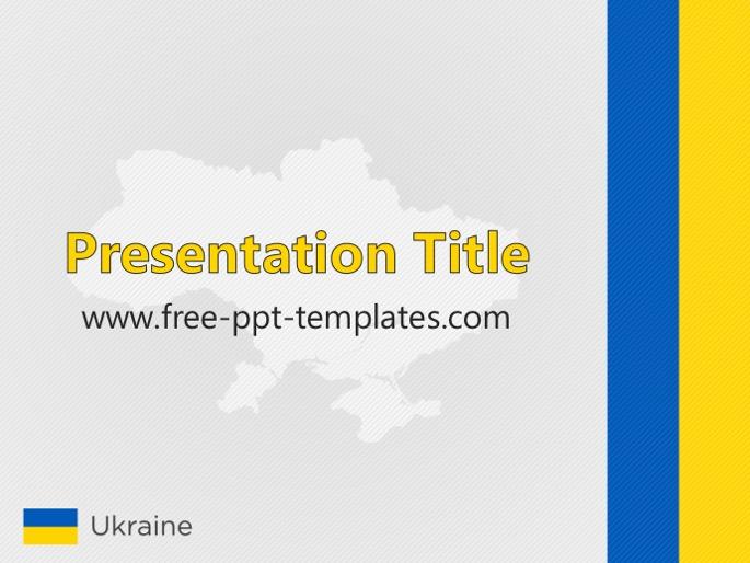 Ukraine ppt template toneelgroepblik Image collections