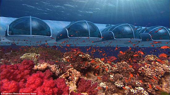 Poseidon Resort Fiji - Underwater hotel
