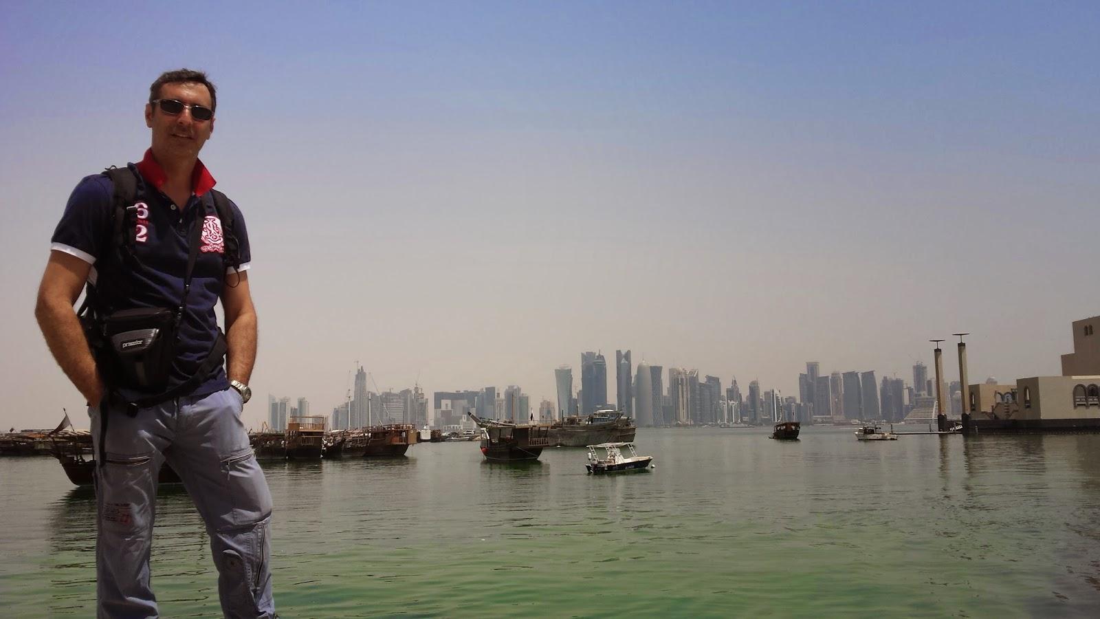 skyline de Doha, Qatar, rascacielos de Doha, Qatar 2022