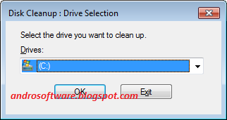 gambar cleanup disk manager win 7