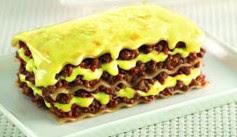 Foto Resep Lasagna Quick Melt Panggang Asli Enak