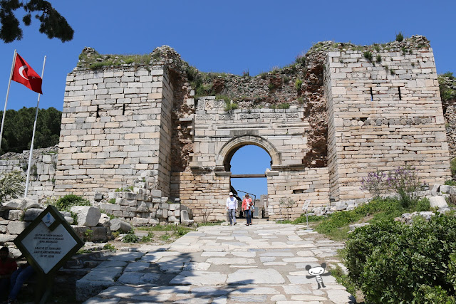 Basilica of St John in Kusadasi, Turkey