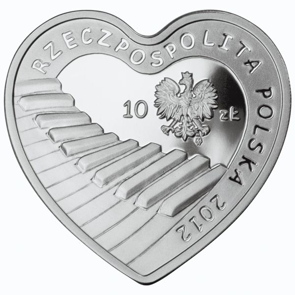 MINT COMMEMORATIVE COIN POLAND 20 YEARS GREAT ORCHESTRA OF CHRISTMAS CHARITY