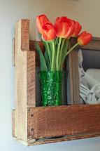 Love Carrots Diy Rustic Pallet Shelves