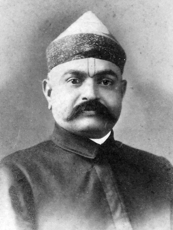 Portrait of a Hindu Man