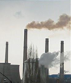 Industrial air pollution pencemaran udara industri