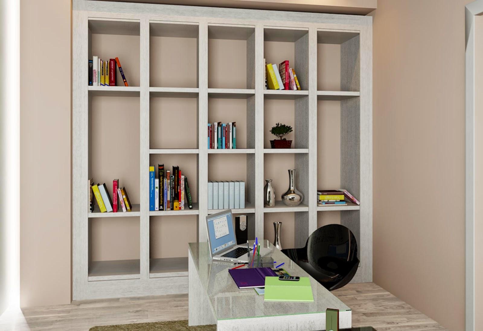 Decora O Home Office Uma Biblioteca Para Chamar De Sua Meu  ~ Home Office Planejado Quarto E Quadro De Quarto De Bebe
