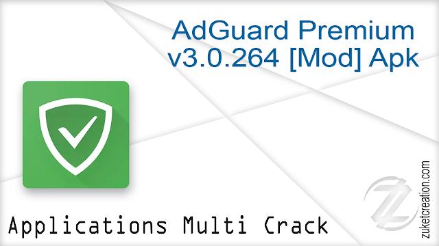 AdGuard Premium v3.0.264 [Mod] Apk