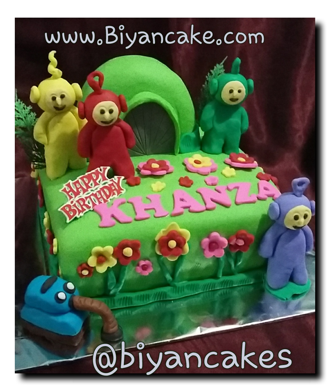Cake Teletubbies ~ Khanza