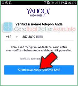 contoh cara daftar email yahoo lewat aplikasi hp android