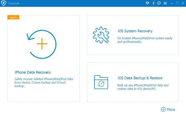 برنامج Aiseesoft FoneLab iPhone Data Recovery 9.1.58