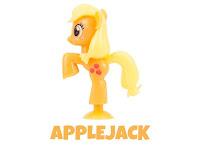 MLP Squishy Pops Series 3 Applejack Figure by Tech 4 Kids