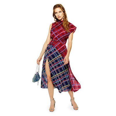 Topshop Plaid Dress