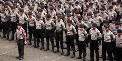 10.000 Polisi Disiagakan Untuk Amankan Pilgub Jabar 2018