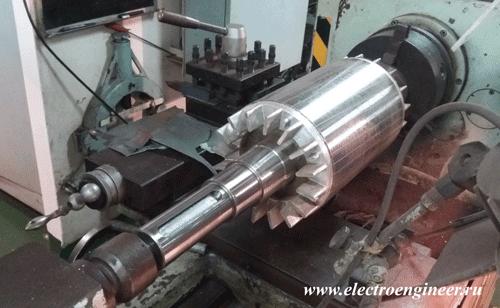 Определение вращающего момента и мощности электродвигателя грузовой лебёдки