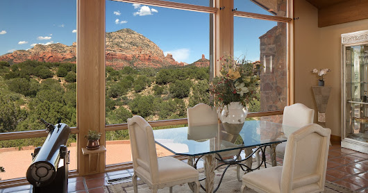 Home for Sale in Sedona - $1,399,000 with indoor pool and 360 degree Red Rock views