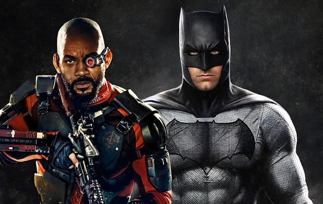 will smith (deadshot) vs batman