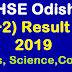 CHSE Odisha Result 2019 - +2 Arts, Science & Commerce