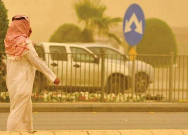 HEATWAVE WARNING IN SAUDI ARABIA