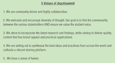Image result for digcitsummituk core values