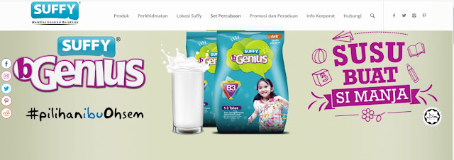 Percuma set percubaan susu Suffy || Cepat sementara stok masih ada