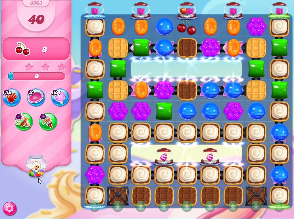 Candy Crush Saga level 3503