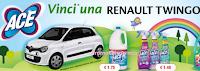 Logo Concorso ACE : Vinci una Renault Tingo SCe Life