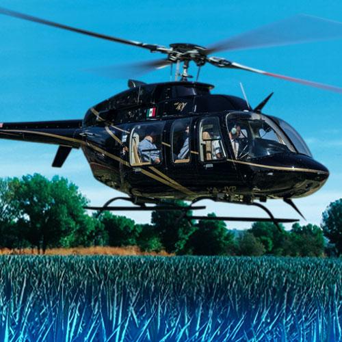 Resultado de imagen para helicoptero casa sauza