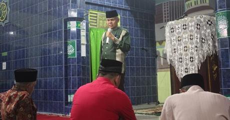 Ceramah di Masjid Al-Ihsan Kampung Durian, Wawako Ingatkan Empat Perkara kepada Jamaah
