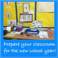 teacher set up new classroom