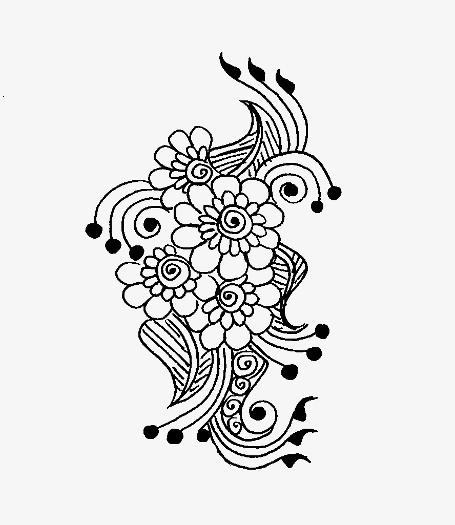 Floral and Paisley Motif